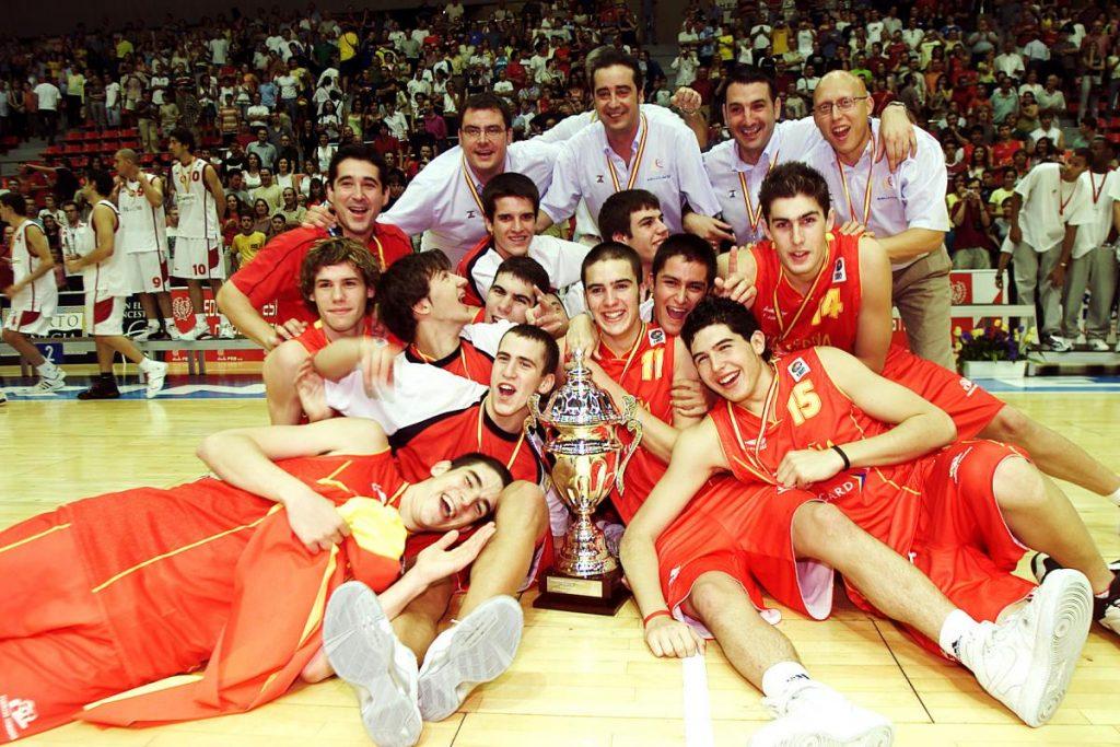 Campeones de Europa U18 en Zaragoza