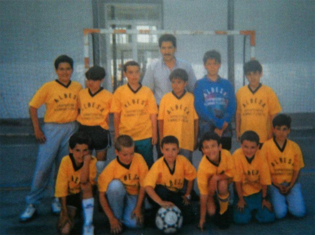 El fútbol, mi primer deporte