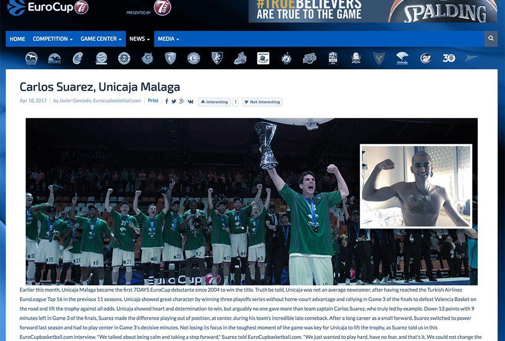 Eurocup.com: «Nos hemos ganado el derecho a volver a la Euroliga»