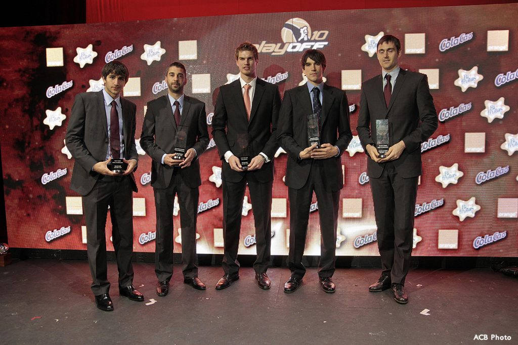 En el Quinteto Ideal de la ACB 2009/2010