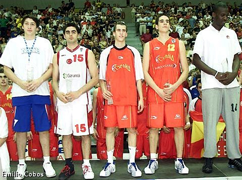 En el quinteto ideal del Europeo U18